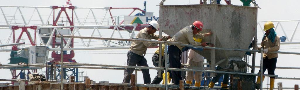 MCI reinforced concrete