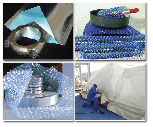 corrosion prevention packaging