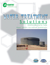 Cortec Water Treatment Solutions brochure
